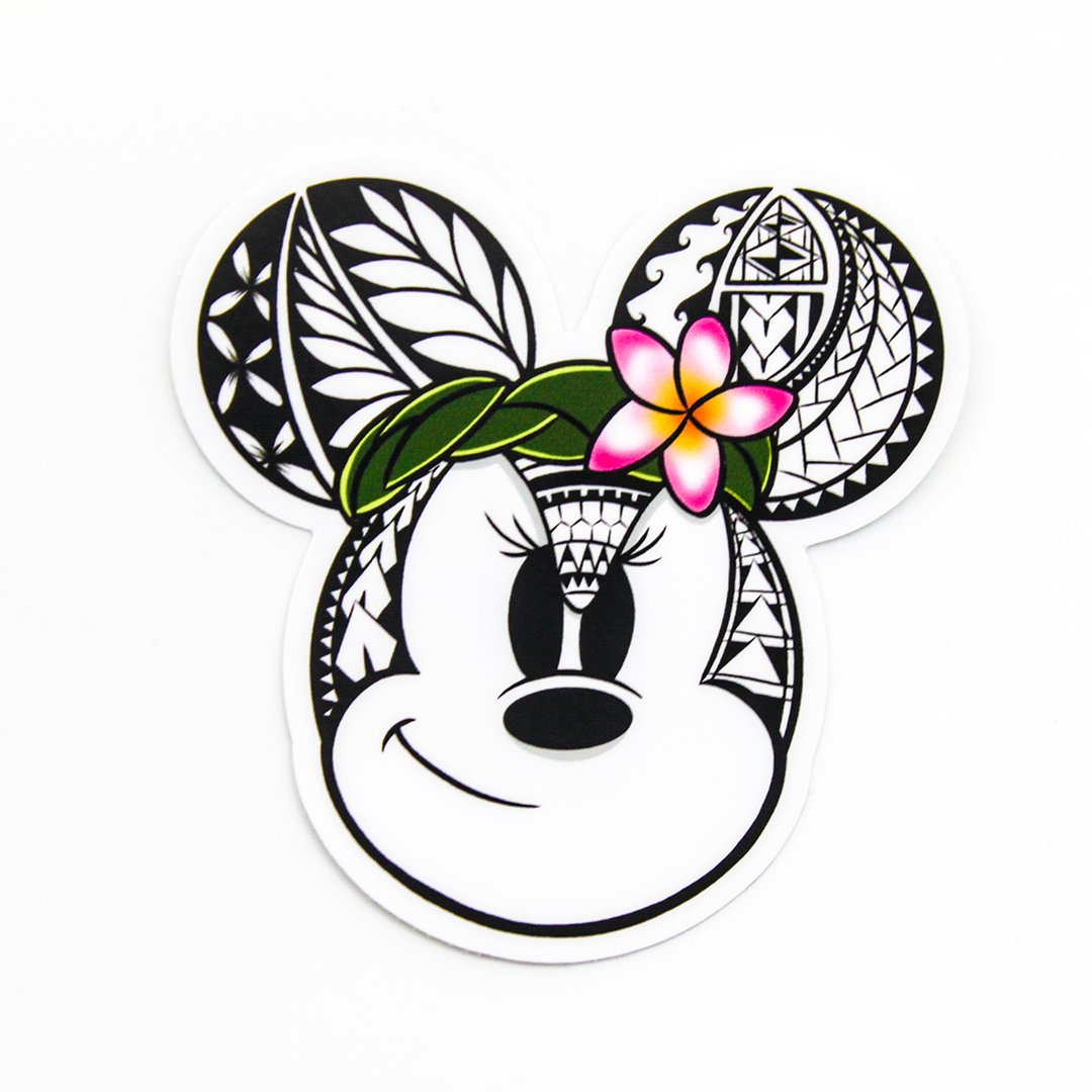 Tribal Minnie Mouse