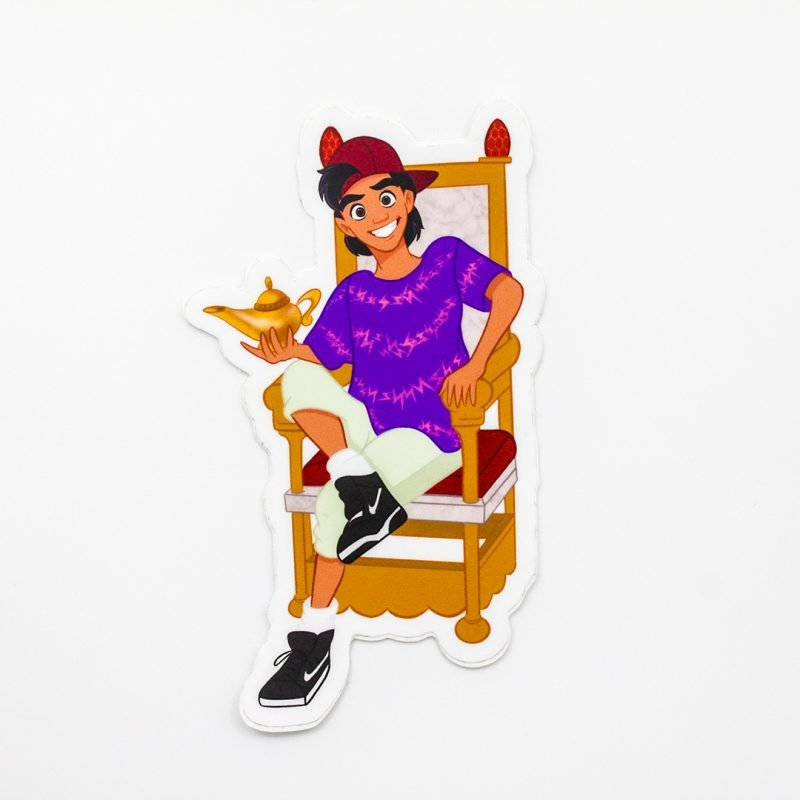 Aladin Sticker